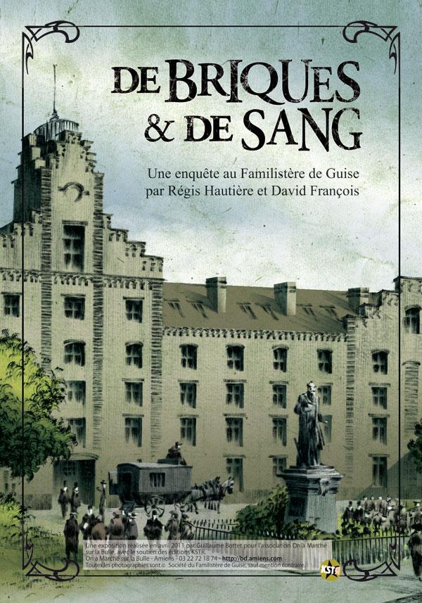 De briques et de sang, par Régis Hautière et David François; éd. KSTR