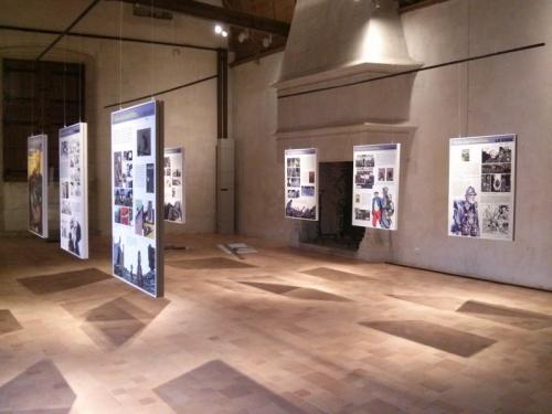 Photo de l'Écho des Tranchées en contexte d'exposition
