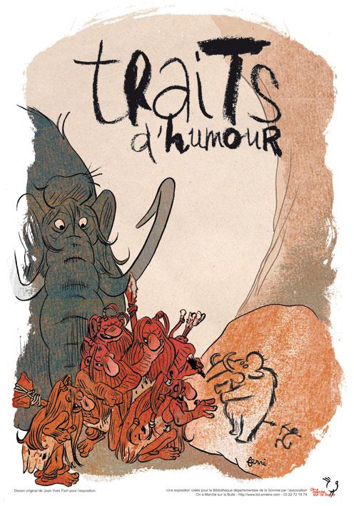 Exposition Traits d'humour, humour et bande dessinée