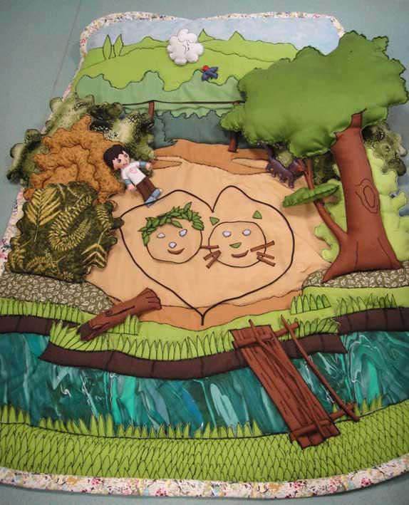 Le Raconte-tapis Hugo et Cagoule