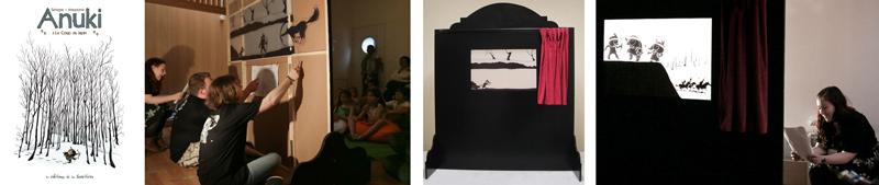 Petit Théâtre d'Ombres Anuki - Support d'animation - Sélection de photos